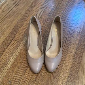 Nine West Shoes - Nine West Nude Pumps- size 7.5
